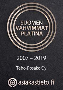 Teho-Posako - Suomen vahvimmat 2007-2019